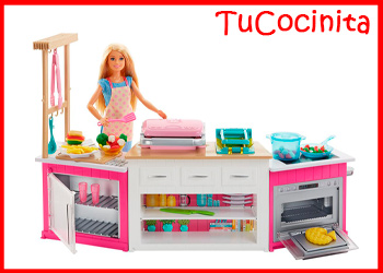 Cocinita Barbie