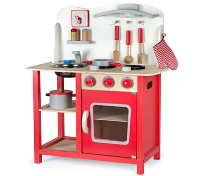cocina leomark roja
